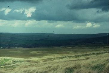 Ollersett Moor, Fred Handford search1976
