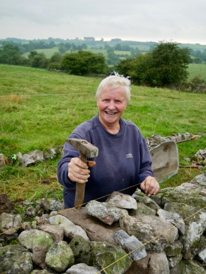 Janet Holt; drystone wall